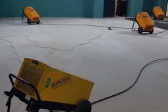şap beton kurutma cihazı